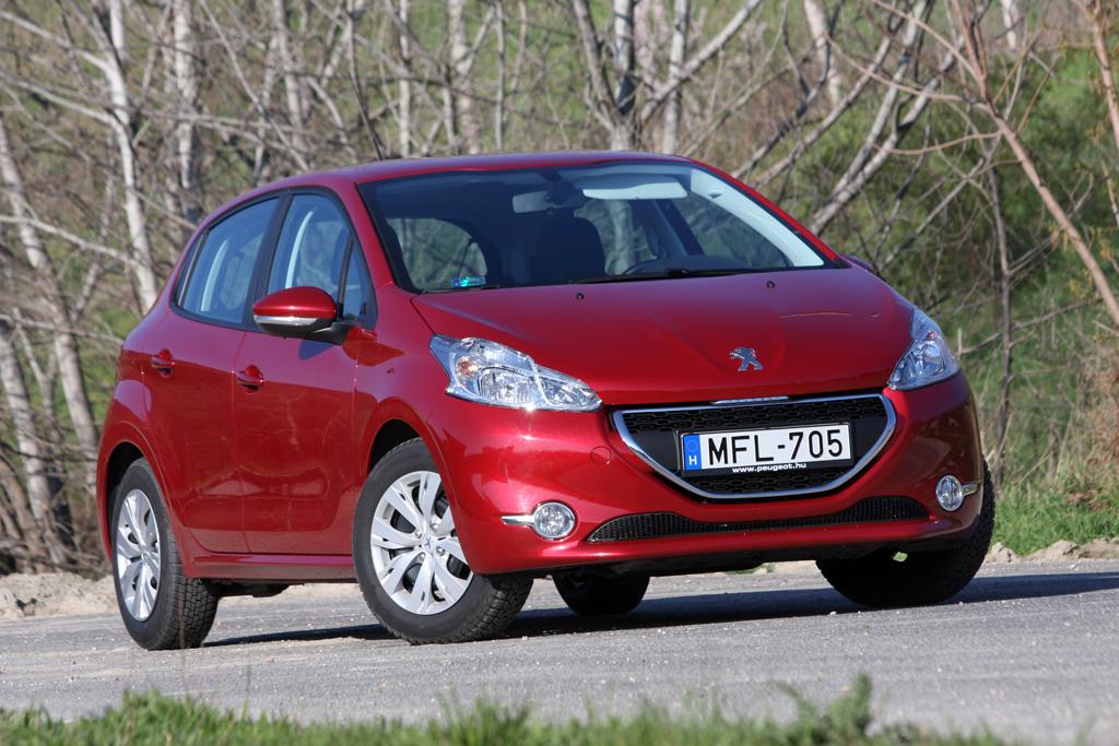 Peugeot 208 hdi teszt