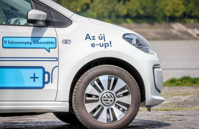 Volkswagen e-up! teszt