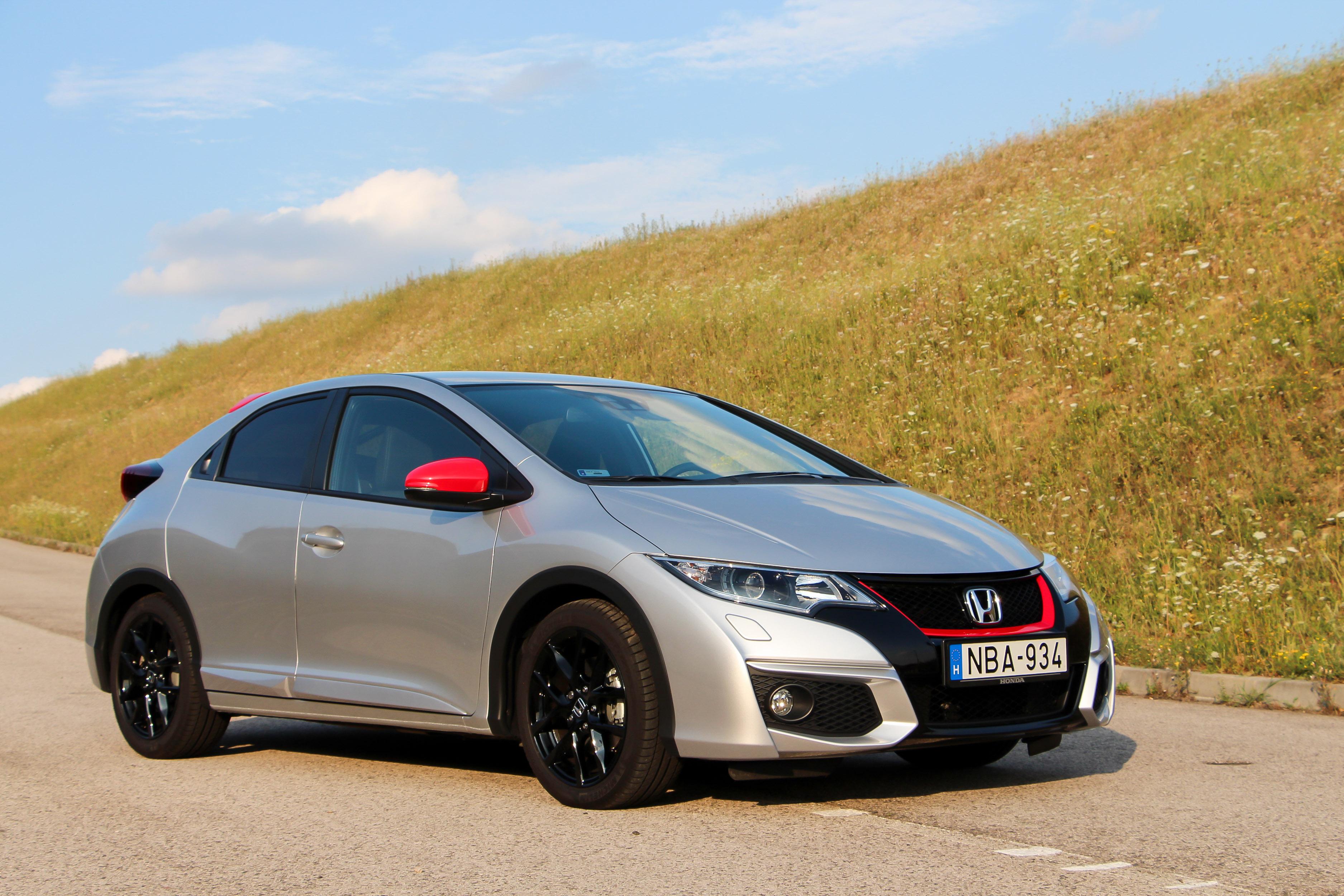 Honda civic 2014 teszt