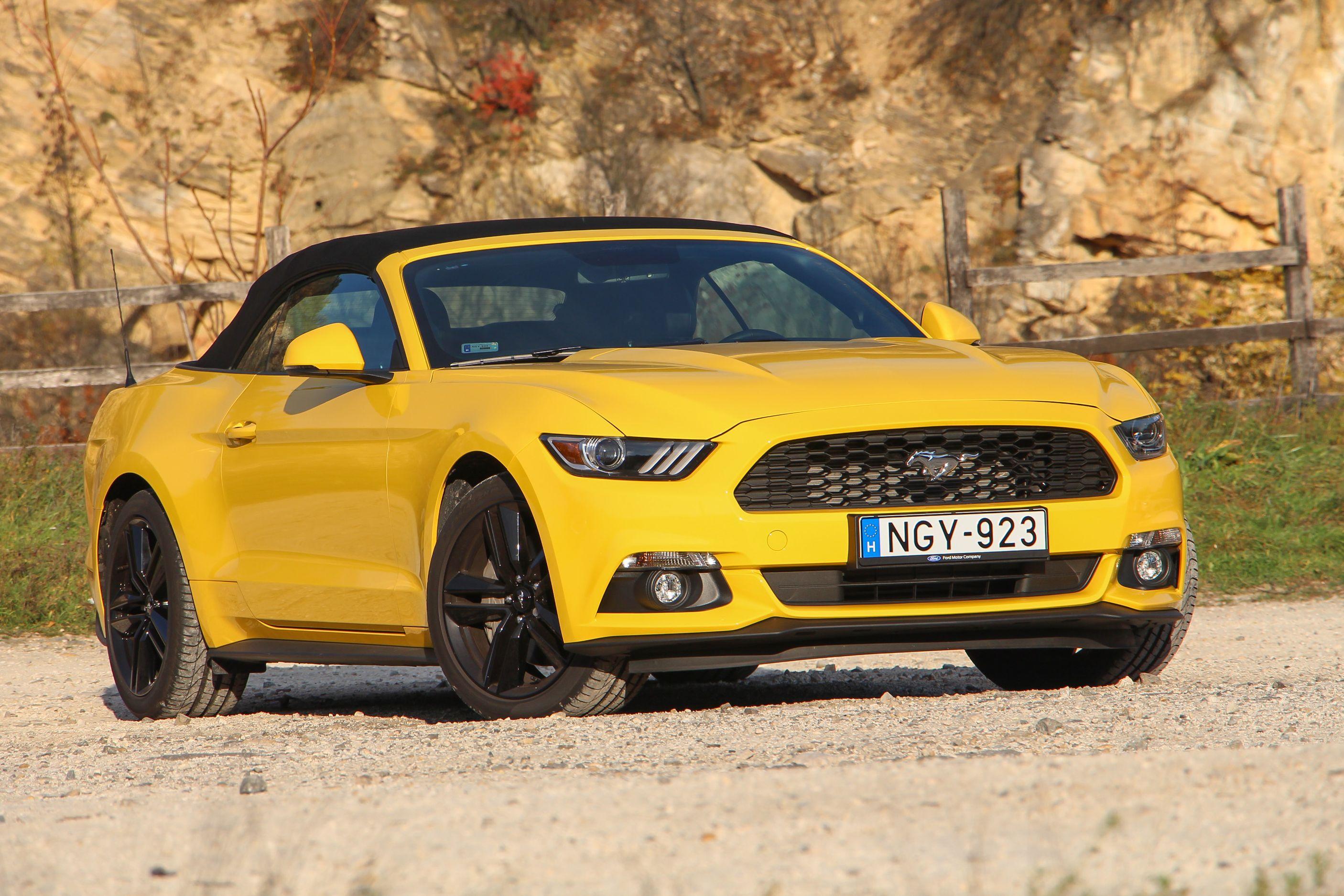 Ford Mustang Ecoboost Fogyasztás