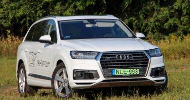 Diétázó vaddisznó – Audi Q7 e-tron teszt