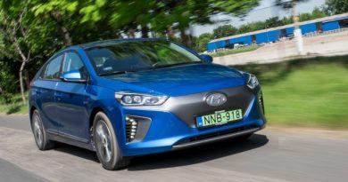 Prius Koreából, akár tisztán elektromosan – Hyundai Ioniq