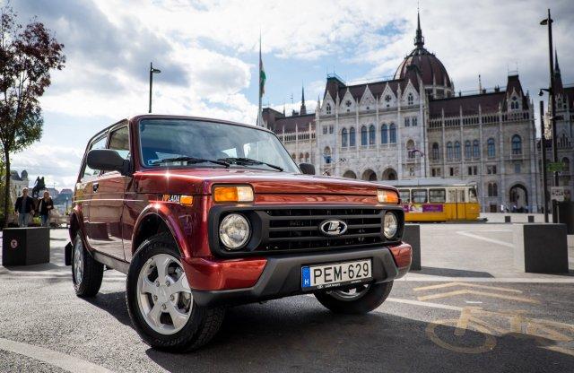 Az oroszok rég Budapesten járnak – Lada 4×4