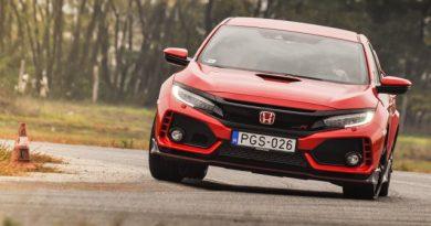 Michelisz után eggyel – Honda Civic Type R teszt