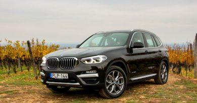 Harmadjára is pont jó a BMW X3