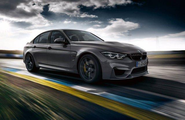Tovább faragtak a BMW M3-on, itt a még sportosabb CS változat