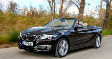 Laza, már ha mondhatunk ilyet – BMW 230i