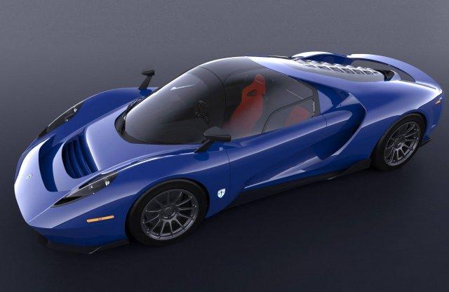 Középkormányos és kézi váltós az új SCG sportkocsi