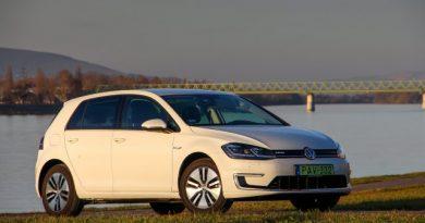 Villanyautóban is etalon? Teszten a Volkswagen e-Golf