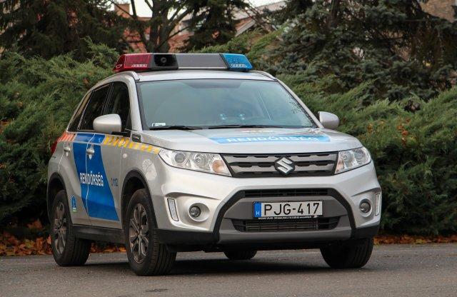 Ismét magyar autó szolgál a rendőröknél
