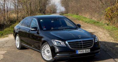 Elnöki ügy – Mercedes-Benz S 400 d