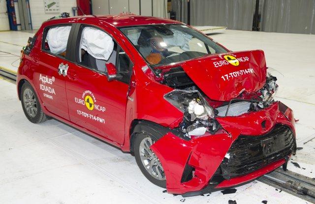 Régebb óta futó modelleket is összetört az Euro NCAP