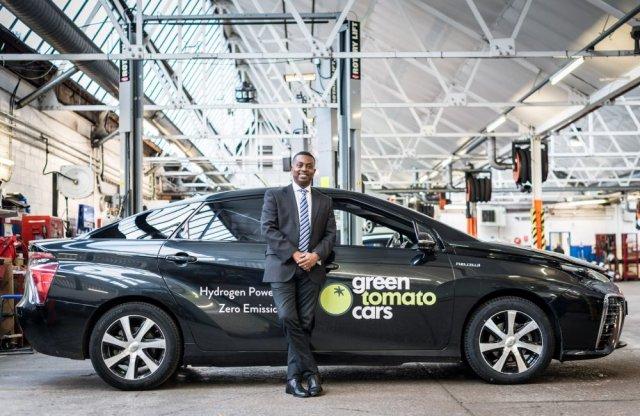 Üzemanyagcellás autó taxiként? Londonban már 2 éve van ilyen!