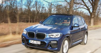 Vesetúltengés – BMW X3 xDrive30d teszt