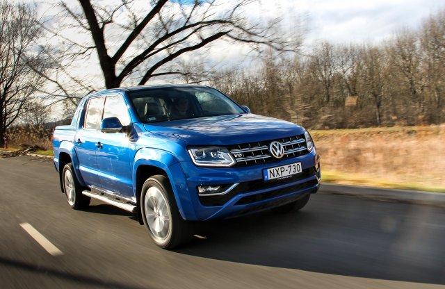 Ez sem az a tipikus melósautó – Volkswagen Amarok