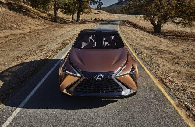 Csúcskategóriás SUV tanulmányt mutatott be a Lexus