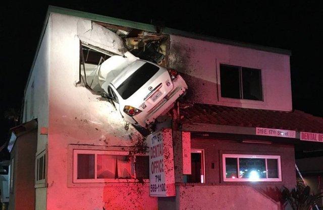 Fogorvosi rendelőben landolt egy Nissan