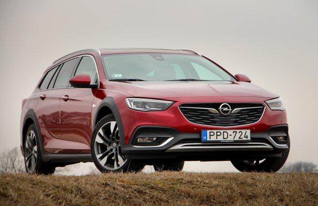 Megemelték, megtöltötték  – Opel Insignia Country Tourer teszt