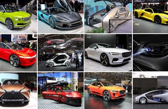 12 forradalmi újítás a Genfi Autószalonról