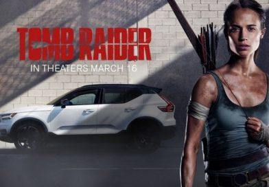 Lara Croft a Volvót választotta