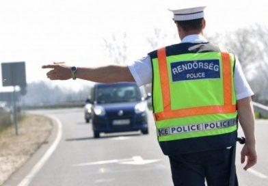 Szombattól ismét razziát tart a rendőrség
