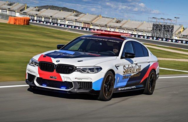 Safety Carként áll szolgálatba az új BMW M5