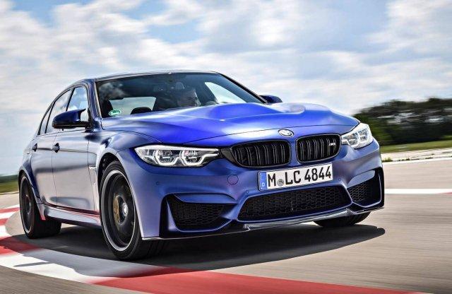 Még erősebb és gyorsabb lett a BMW M3