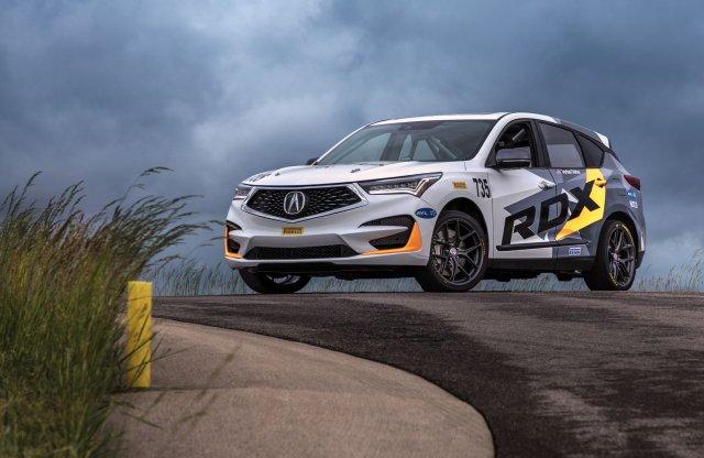 Szabadidő-autót is indít az Acura a Pikes Peaken