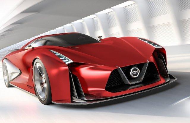 Mindennél gyorsabb lesz az új GT-R, villanyhajtás nélkül is