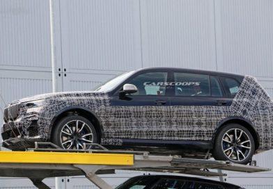Kémfotókon az új BMW X7