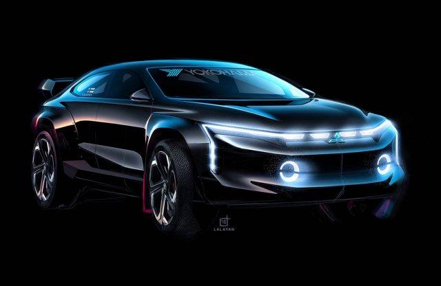 Így nézne ki a Lancer Crossover Coupe