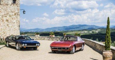 Retró Lamborghini túra a Toszkán dombok között!