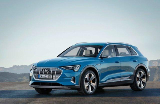 Naná, hogy egy SUV az Audi első dedikált villanyautója
