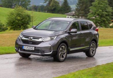 Új adatok érkeztek a Honda CR-V hibrid változatáról