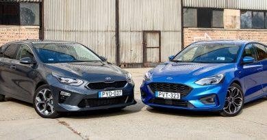 Fókuszban a kényelem – Ford Focus vs. Kia Ceed
