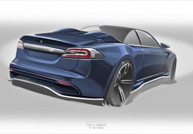 Készül egy új kabrió Tesla, olyan, amilyenre vártunk