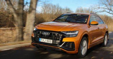 Godzilla narancsban – Audi Q8 teszt