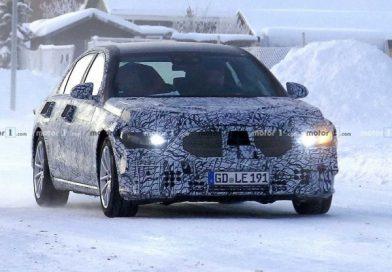 Téli tesztet teljesít a Mercedes S-osztály új modellje