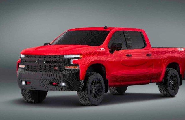 Apró téglákból áll a Chevrolet új pikcupja