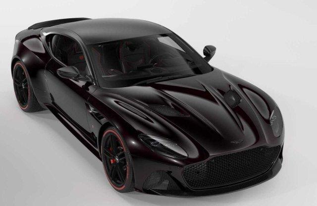 Vészjóslóan sötét alak az új extra ritka Aston Martin