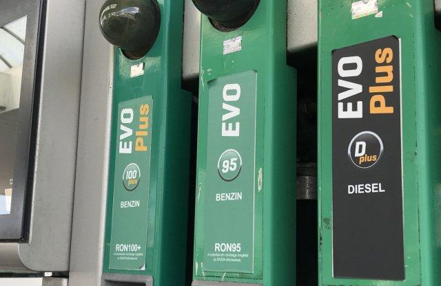 Csak az olcsóbbik üzemanyag ára kerül feljebb pénteken