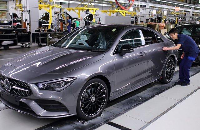 Kizárólag Kecskeméten készül a Mercedes-Benz CLA Coupé