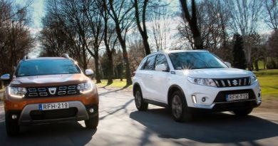 Játsszuk le ismét! Dacia Duster TCe vs. Suzuki Vitara Boosterjet