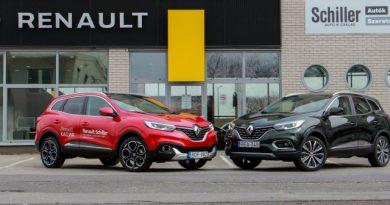 Frissítés előtt és után: Renault Kadjar