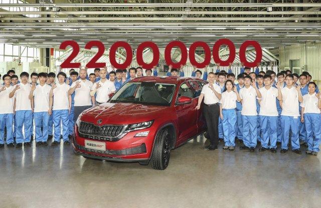 Elképesztő autótörténelem: elkészült a 22 milliomodik Skoda!