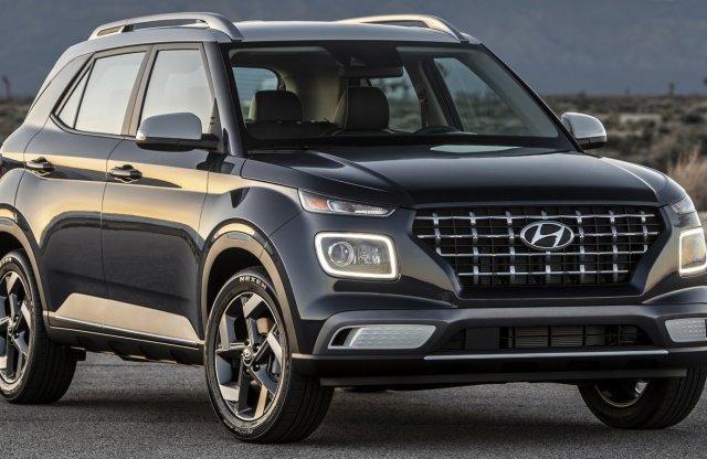 Venue néven újabb SUV érkezik a Hyundai-tól
