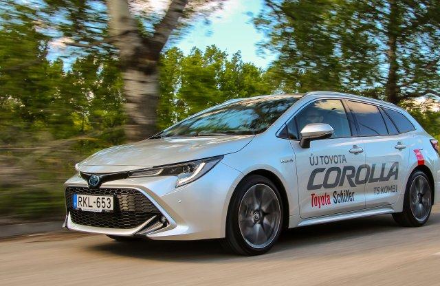 Minden idők legkomolyabb Corollája: a csúcshibrid kombi