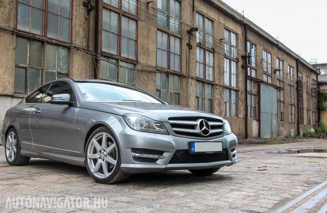 Az ezüst középút – Mercedes-Benz C 220 CDI kupé