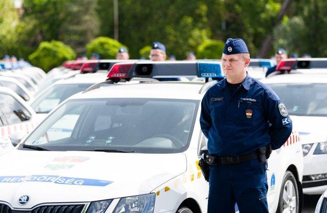 Mutatjuk a legújabb rendőrautókat