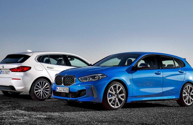 Sportkompaktként fronthajtással érkezett az új 1-es BMW